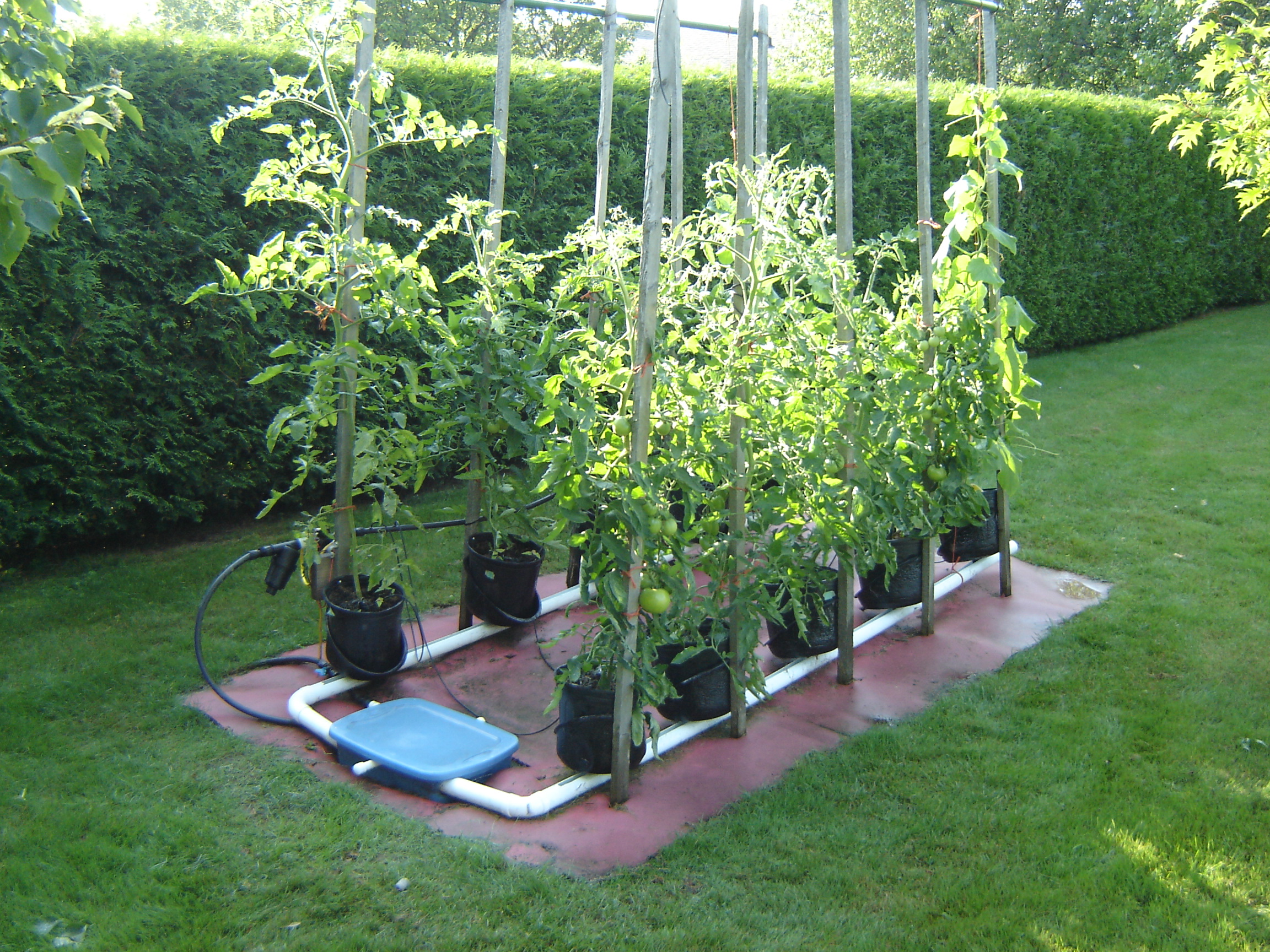 Jardin 2 x 5 pots std